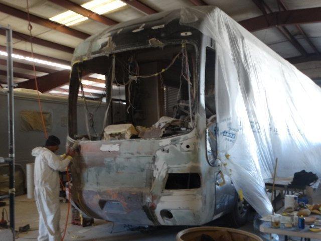 Rv collision repair